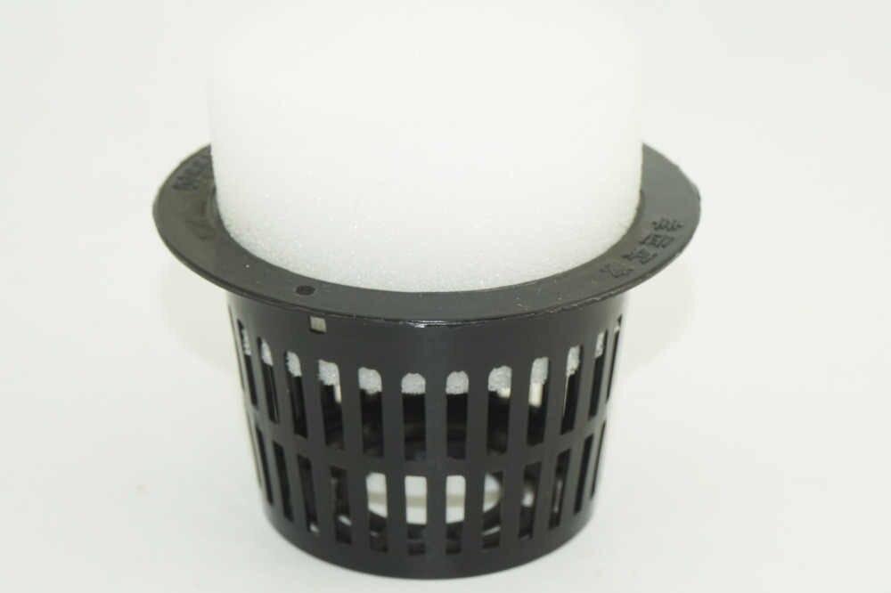 Jardim aquático Plantio cesta de Kit Hidropônico Crescer Planta Cesta De Plástico Net