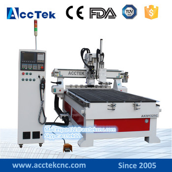 цена на 1325 High quality ATC cnc wood engraving machine/woodworking cnc machines for sale/cnc spare parts
