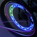 2016 Nova Novidade Lâmpada Mountain Bike Bicicleta Salgueiro Falou Luzes Coloridas Varas de Luz LED Noite Equipamento de Equitação Luzes de Advertência