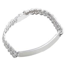 Silvering bracelet fashion jewelry Cow Leather Bracelet length 20cm