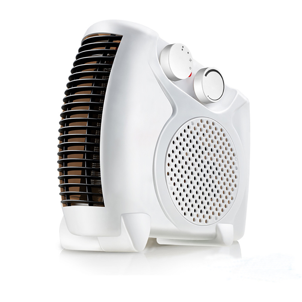 Electric warm air heater electric heating household cold and warm dual use mini type electric fan heater mini air conditioner 220v 3 gear mini electric warm air blower electric air heater room fan heater cold and warm dual purpose overheat protection