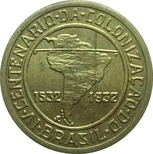 1532-1932 Brazil 400 reis coins COPY