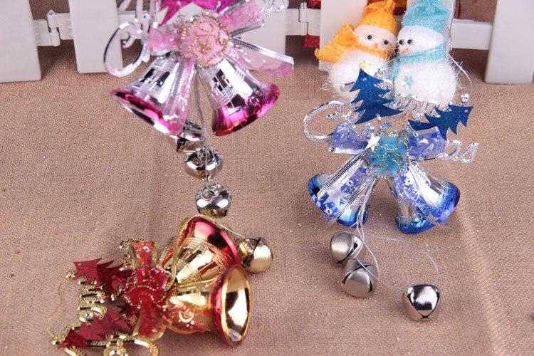 7.8(inch) Small Jingle Bells Metal Bell Christmas Tree