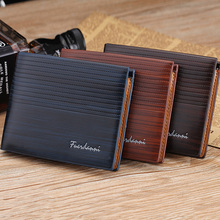 PU Leather Men Wallet Money Bag Credit Card Holders Dollar Bill Wallet Clutch Purse For Boy Use Vintage Purses Wallets Men Walet