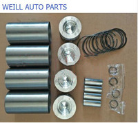 WEILL Four matching (Cylinder Liner Piston ring piston pin) for great wall haval H5 H6 wingle 4D20 engine