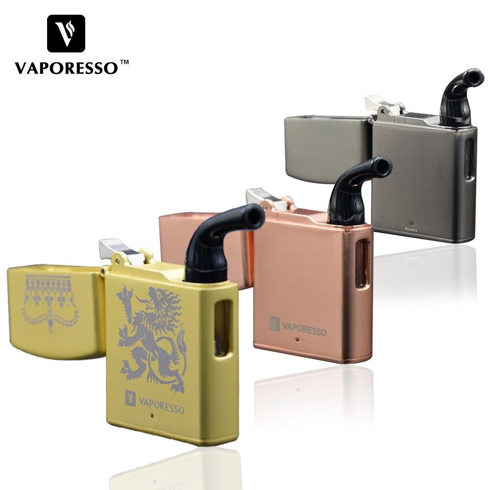 Original Vaporesso Aurora Starter Kit 800 mAh Bateria Cigarro Eletrônico 1.2 ml Kit Zippo Mini cigarro Vape vaporizador