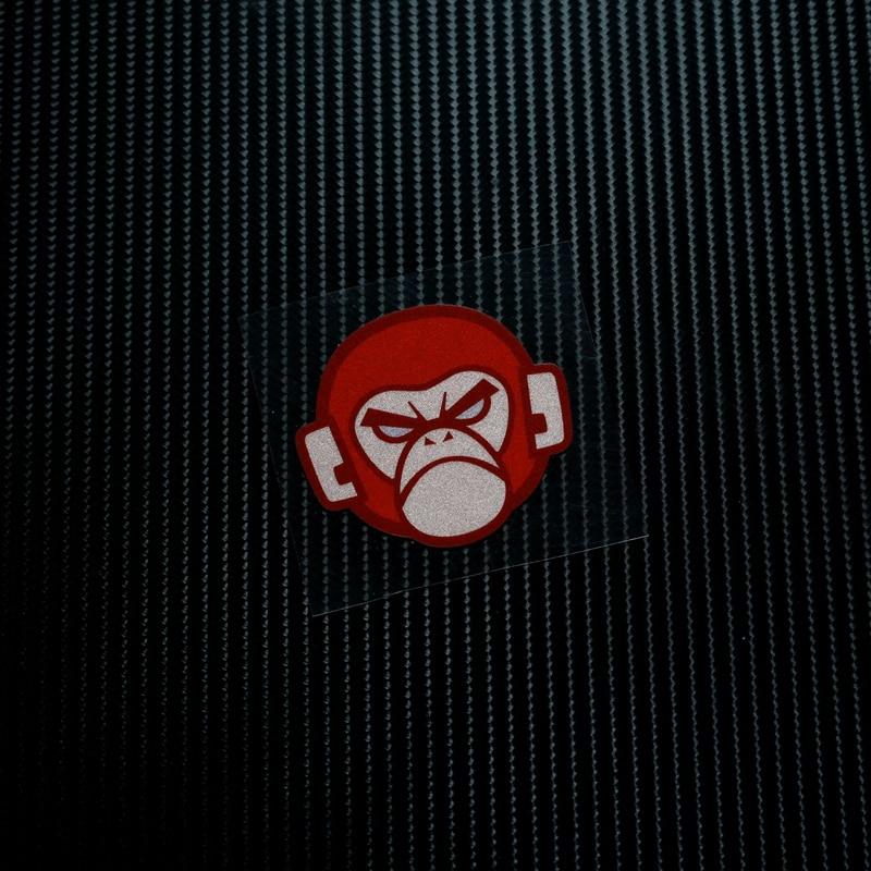 Us 356 33 Offkeine Ls042 Trunk Monkey Moto Gp Atv Reflektierende Aufkleber Aufkleber Motorrad Bike Sbk Motocross Helm Windschutzscheibe In