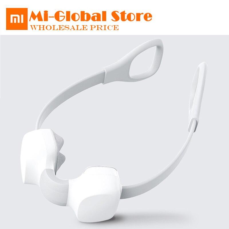 Xiaomi mini masseur de cou massage Shiatsu pétrissage bidirectionnel type-c charge troisième mode de vitesse un bouton de commutation pour la maison intelligente