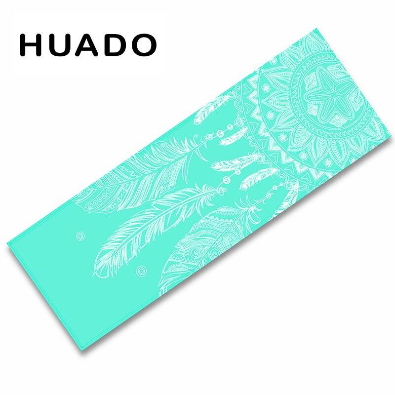 Custom design Company logo Folding Natural Rubber Yoga Mat ...