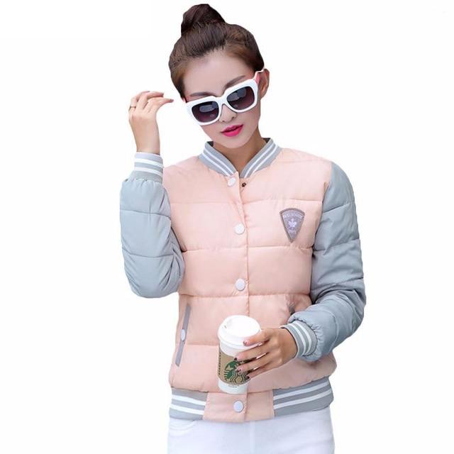 Fashion Winter Jacket Women Short Style Parkas Coat Slim Casual Winter Coat Women Warm Parka Plus Size Manteau Femme 2017