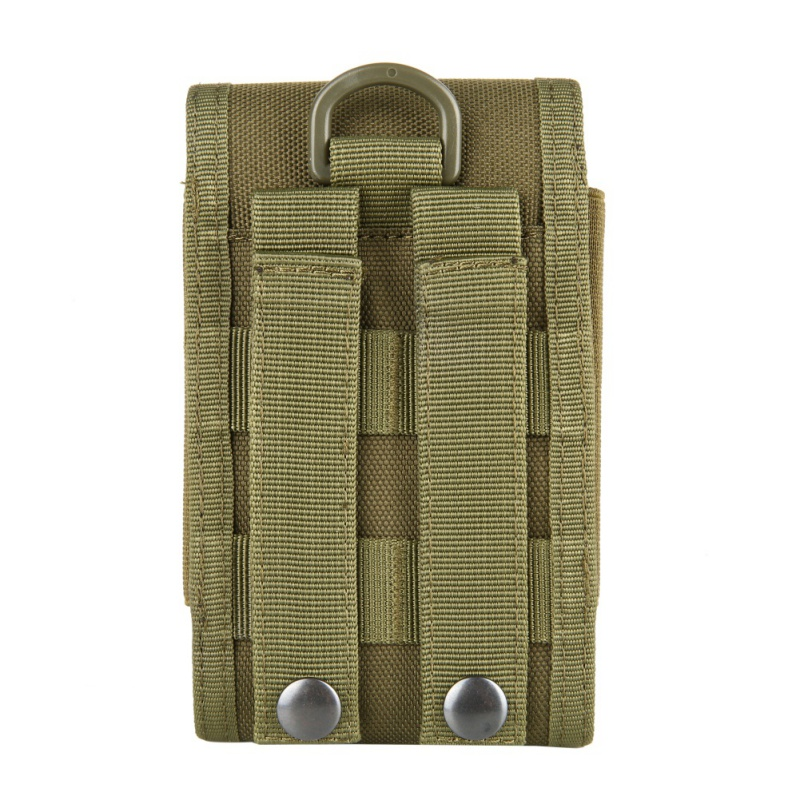 Outdoor multi-function  phone bag MOLLE bag 1000D nylon strong and durable outdoor running phone bag Parts package