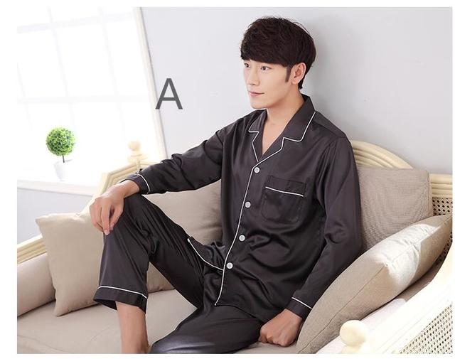 2017 Nueva Llegada de La Venta Caliente Naturaleza Sueño de Seda Superior Para hombres Homewear Ropa de Dormir el Sueño Bueno Momme Camisa Pura Colorido Sueño Tops
