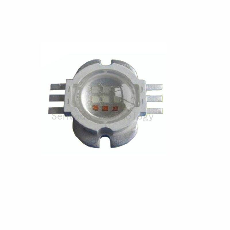 15x nagy teljesítményű 6 pin 9W-os rgb led lámpagyöngyök 60 - Világítási kiegészítők