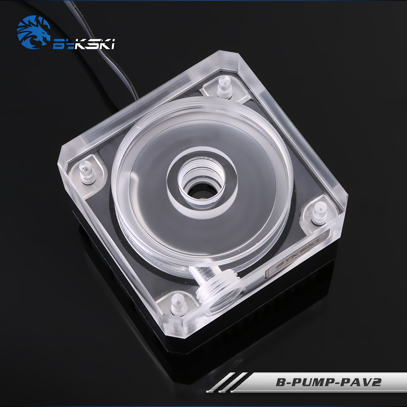 Bykski B-PUMP-PAV Water Cooling Pump with Heatsink 300L bykski b pump pav water cooling pump with heatsink 300l