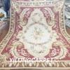 Yilong 9 X12 Customized Flat Weave Handmade New Zealand Wool Classical Aubusson Carpet Au21 9x12