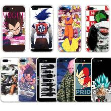Cartoon Dragon Ball  Phone Cases Cover for Apple iPhone 5 5s 6 6s 7 8 Plus X Soft TPU CASE
