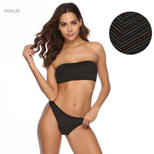 NIDALEE Sxey Solid Swimwear Women Bikini Set Beach Bathing Suit Thong Push Up Bikini Swimsuit Maillot De Bain Femme Swimwear nidalee sexy women swimwear high waist bikini plus size 3xl swimsuit beach bathing suit push up bikini set maillot de bain femme
