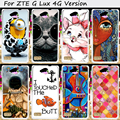 Hard Plastic&Soft TPU Silicones Cell Phone Cover For ZTE Blade G Lux Kis 3 Max / V830 4G Version Cases Durable Protective Shell