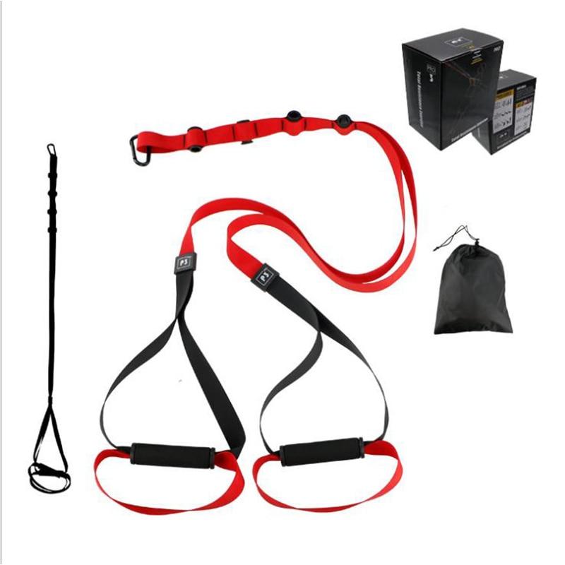 Suspension Trainer Body Resistance bands Training Straps Complete Kit