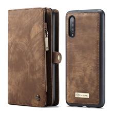 Étui portefeuille en cuir magnétique multifonction Vintage de luxe pour Samsung A21s A71 A51 A20E A80 A70 A50 A40 A20 A30