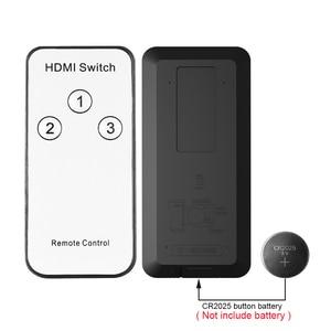 Image 5 - 3x1 HDMI Splitter 3 Port Hub Box Auto Schalter 3 In 1 Out Switcher 1080p HD 1,4 mit Fernbedienung für HDTV XBOX360 PS3 Projektor