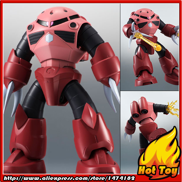 Original BANDAI Tamashii Nations Robot Spirits No.206 Action Figure - MSM-07S Char's Z'Gok ver. A.N.I.M.E. Mobile Suit Gundam original bandai tamashii nations robot spirits exclusive action figure rick dom char s custom model ver a n i m e gundam