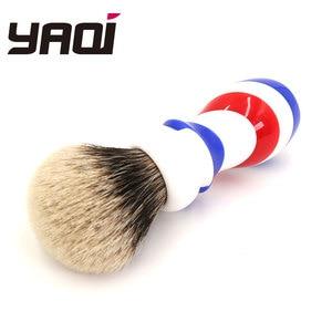 Image 5 - Yaqi New Barber Pole Style 24mm Two Band Badger Knot Shaving Brush