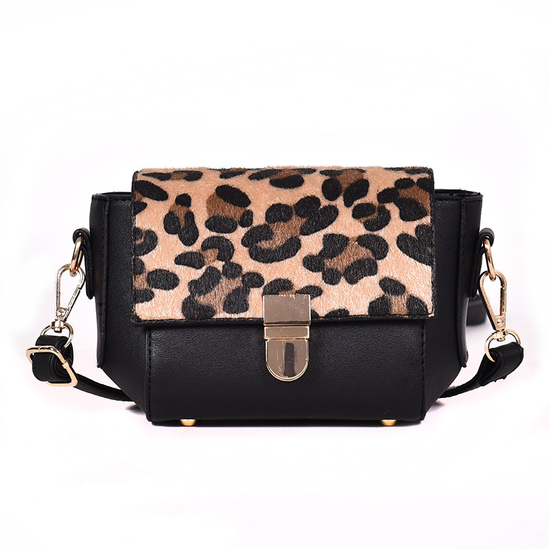 GYKAEO Ladies Leopard Evening Clutch Bags 2018 Winter Small Korean Style Shoulder Bags for Women Casual Shopping Messenger Bag 6