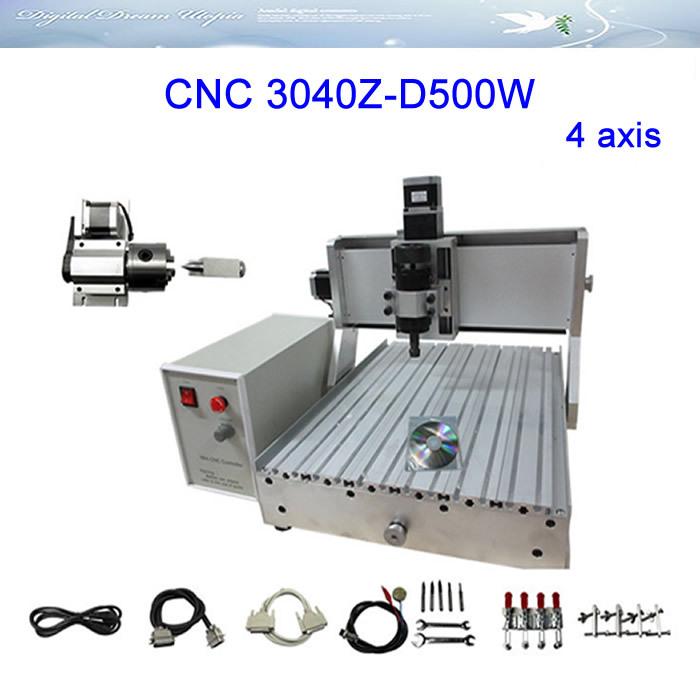 Russia free tax ! Newest CNC Router Engraver/Engraving Drilling and Milling Machine LY CNC3040Z-D500W 4axis мыло christina крем мыло silk clean up cream объем 120 мл