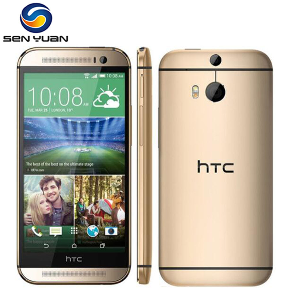 "HTC ONE M8 Phone 32 GB ROM Quad-Core 5.0 ""Touch screen 3G & 4G WIFI GPS M8 Cell"