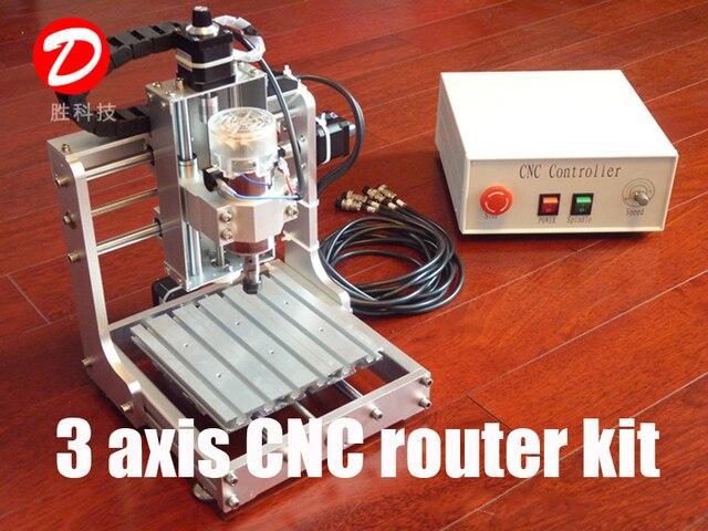 3 axis 300 w parallela mach3 cnc fresatrice fresatrice for Mini tornio cnc