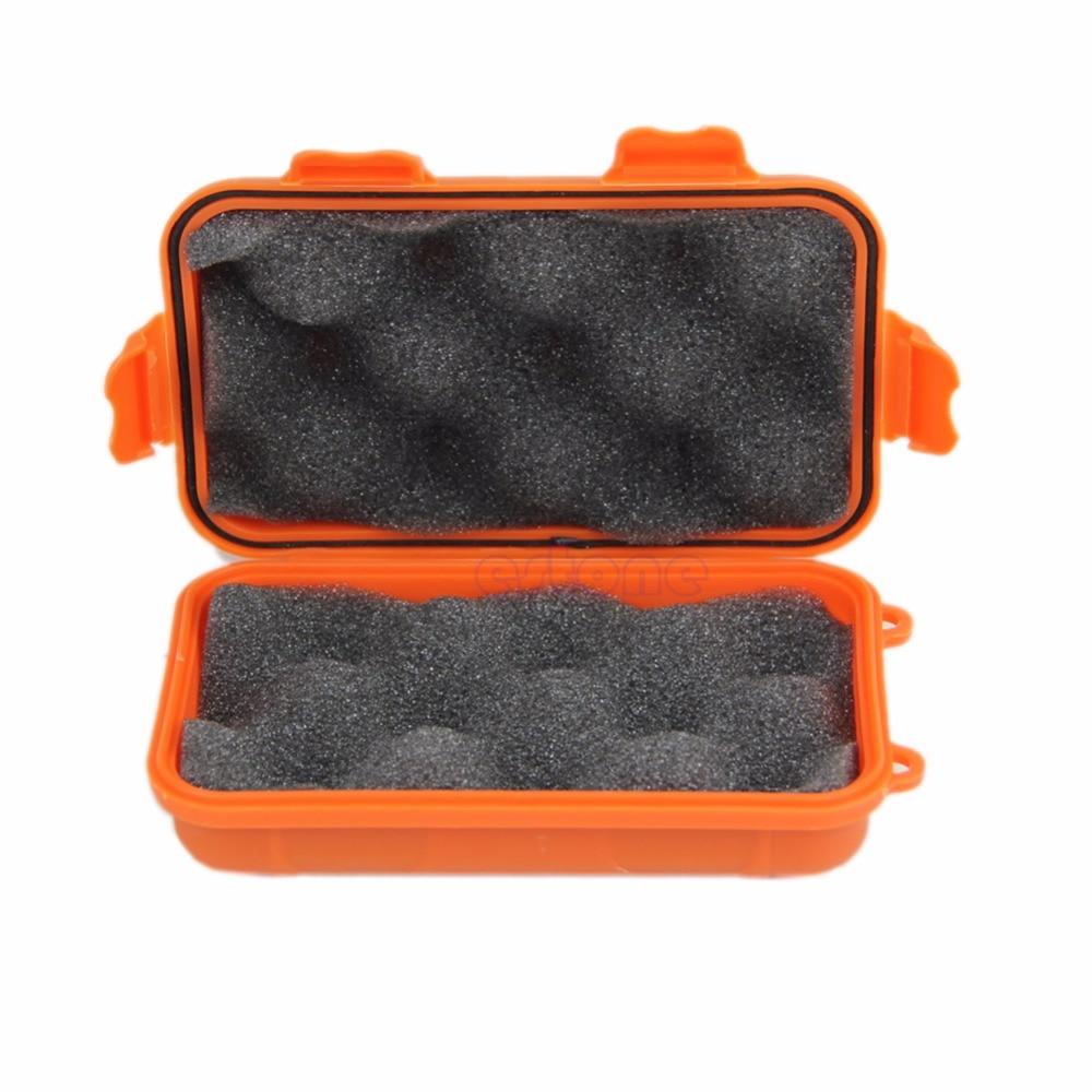Купить с кэшбэком Outdoor Plastic Waterproof Airtight Survival Case Container Storage Carry Box