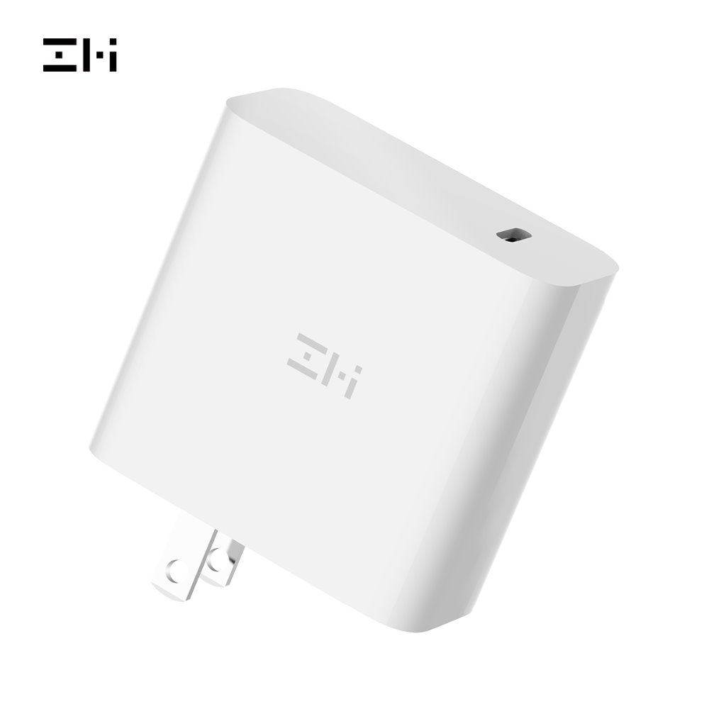 ZMI AD03Z PowerPlug Turbo 45W Wall Charger USB-C PD Power Adapter, Laptop Charger For New MacBook/Pixelbook/Pixel, Fast Charger