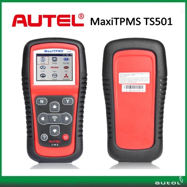 100 Original Autel MaxiTPMS TS501 font b TPMS b font Tool with OBDII Adapters for All