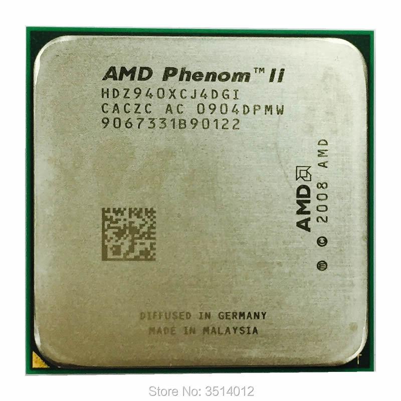 AMD Phenom X4 940 X4 940 3 0 GHz Quad Core CPU Processor HDZ940XCJ4DGI 125W Socket