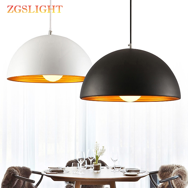 Restaurant Pendant Lights Simple Modern Coffee Shop Bar AC110V/220V E27 For Decor Lamp Shade