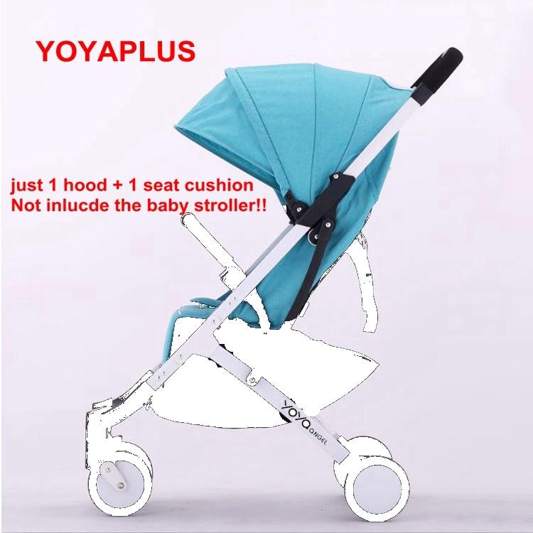 2017 Yoyaplus Stroller Accessories Original Seat Sun Shade Cover yoyaplus Pram mattress Sunshade Canopy Buggie hood