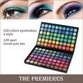 120 Fashion Color de Ojos paleta de sombra de ojos Cosméticos Mineral Make Up maquillaje de Sombra de Ojos Paleta sombra de ojos set para las mujeres 4 Estilo Color