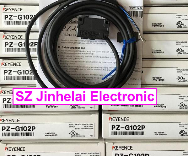 100% New and original PZ-G102P KEYENCE Photoelectric switch, Photoelectric sensor pz g102n photoelectric switch