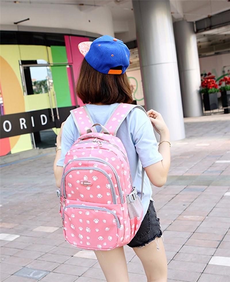 Fashion kids book bag breathable backpacks children school bags women leisure travel shoulder backpack mochila escolar infantil 6