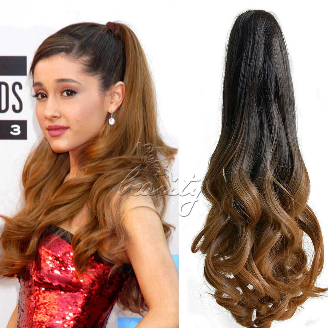 We Have This Curly Ponytail With Other Color And The Straight If You Are Intersted Pls Kindly Check Link