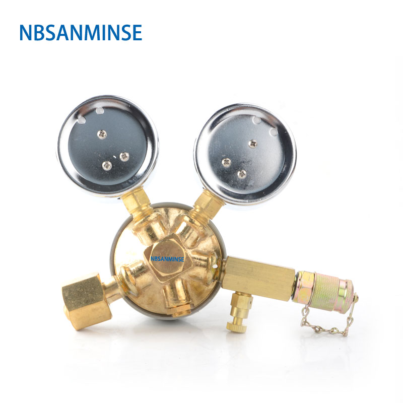 NBSANMINSE SMT03 Tube M16 * 2M12. 65*1.5 fil en dents de scie azote gaz charge hydraulique marteau de rupture outils de charge basse pression - 2