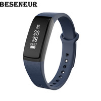 Beseneur B13 Smart Band Wristband Heart Rate Blood Pressure Oxygen IP67 Waterproof Sleep Detection For Android