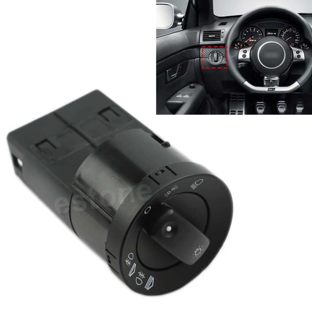 New Headlight Control Head Light Switch Fit For AUDI A4 S4 Quattro 8E0941531A G6KC