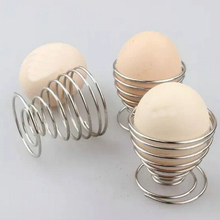 1 шт. Stainelss стальная пружинная проволока лоток Подставка для яйца вареные яйца держатель Горячие продукты