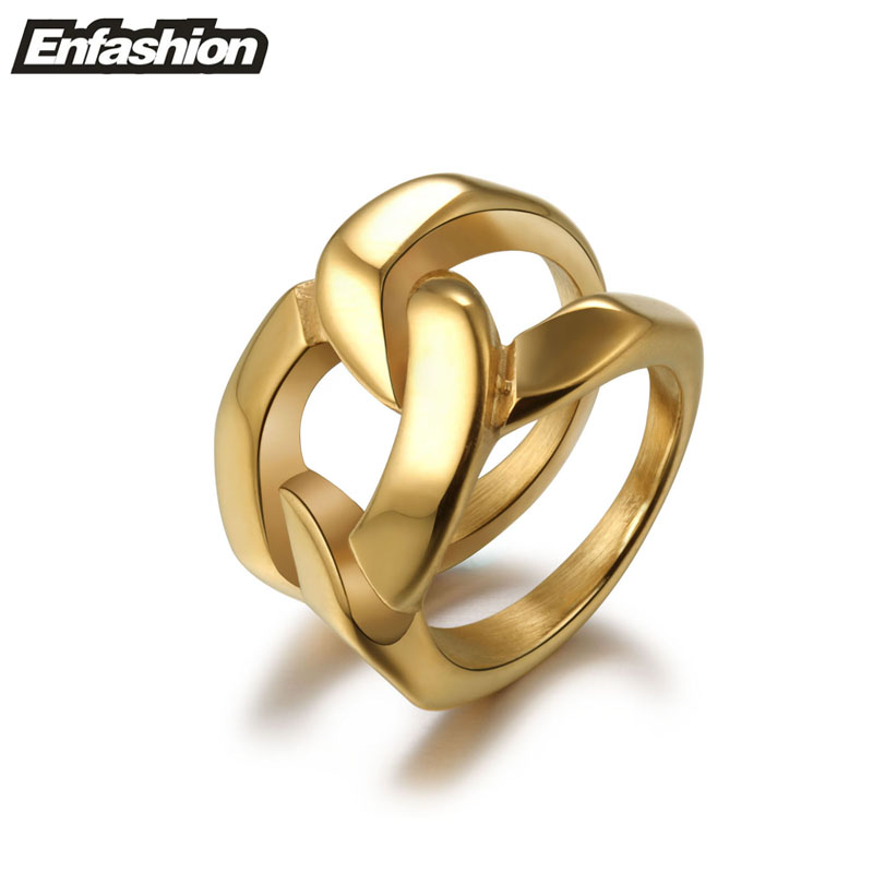 aliexpress buy fashion structured chain ring and