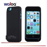 Wojoq 4200 mAh portátil Baterías portátiles Teléfono batería externa cargador de reserva caso para el iPhone 5 5S 5C se batería caso