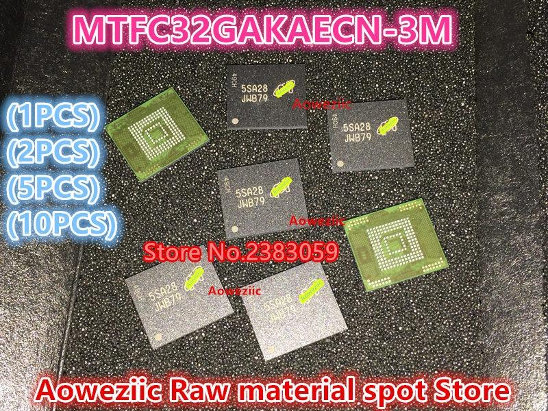все цены на (1PCS) (2PCS) (5PCS) (10PCS) 100%New original  MTFC32GAKAECN-3M  MTFC32GAKAECN  JWB79    BGA memory chip онлайн
