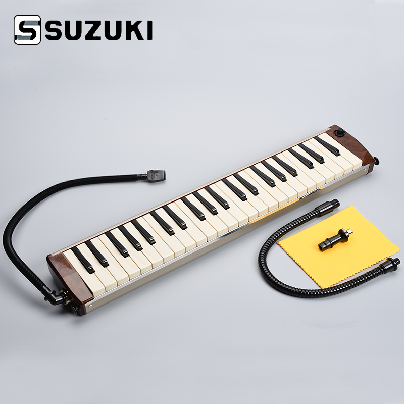 Suzuki Hammond PRO-44H Acoustic-Electric Melodion 44Key Melodica with Case Professional Performance suzuki s 32c soprano melodion with case and mouthpiece 32 key melodica professional performance