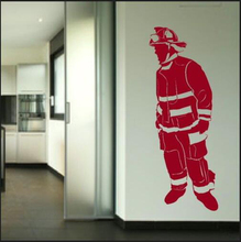 High Quality Wall Pictures Fireman Removable Vinyl Decal Wallpaper Plane  Wall Stickers Home Decor For Living Room